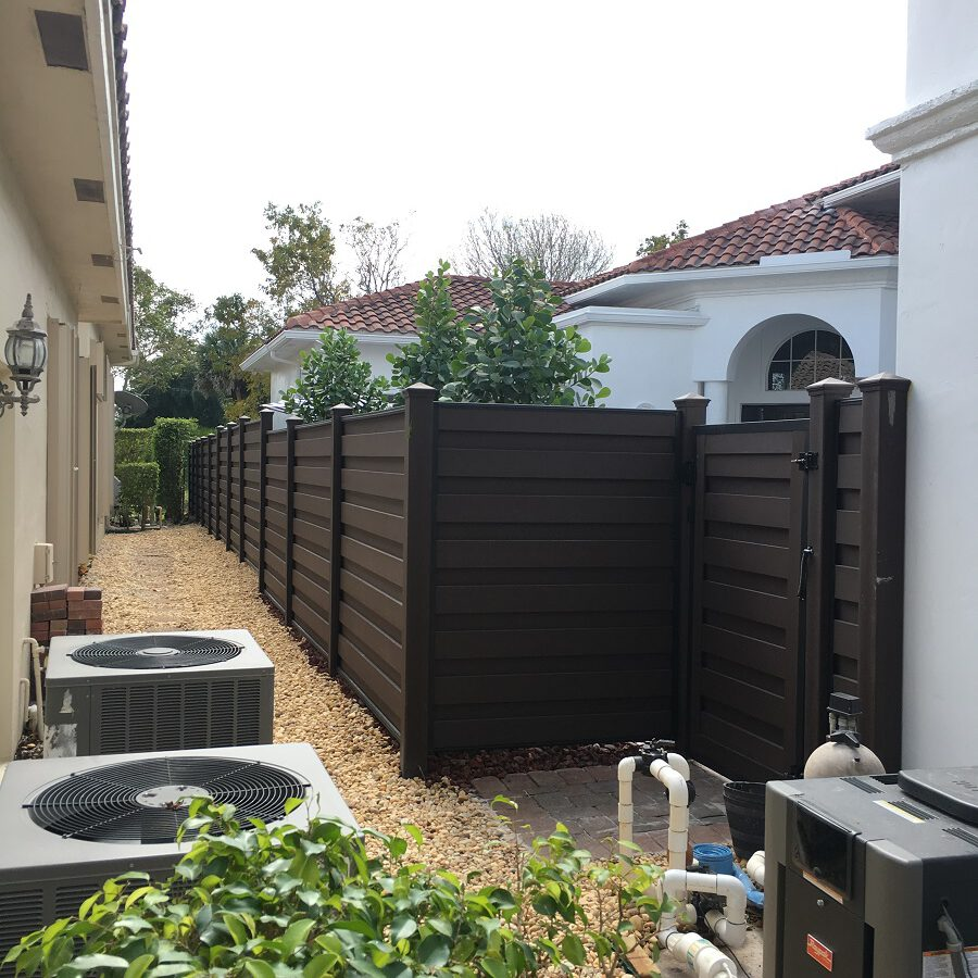 atlanta residental fence installation